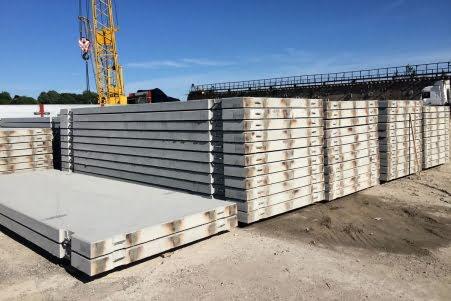 Производство и продажа бетонных дорожных плит в Краснодаре