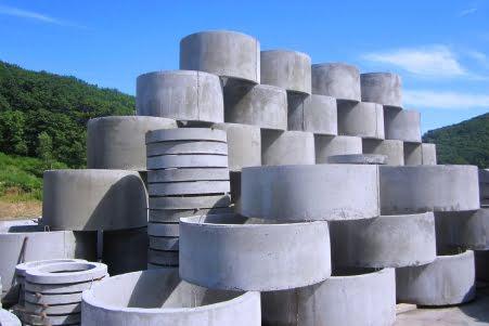 Производство и продажа бетонных колец в Краснодаре